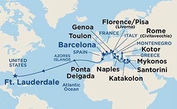 Offer Details - Admiral of the Fleet® Cruise Center